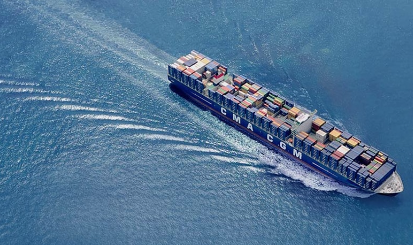 Container Ship Now Offering Journeys Between The USA And Europe