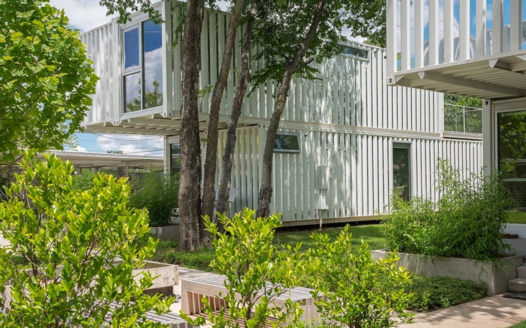 Squirrel Park Sustainable Living Community Created With Shipping Containers