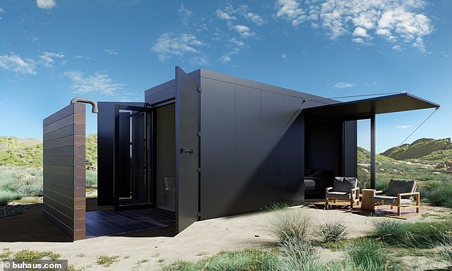 Architects Design A Bushfire Proof Luxury Home Out Of Shipping Containers Complete With A Floating Bed And Outdoor Shower
