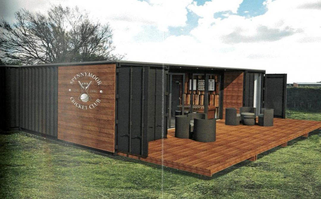 Shipping Container Plan For Arson-Hit Spennymoor Cricket Club