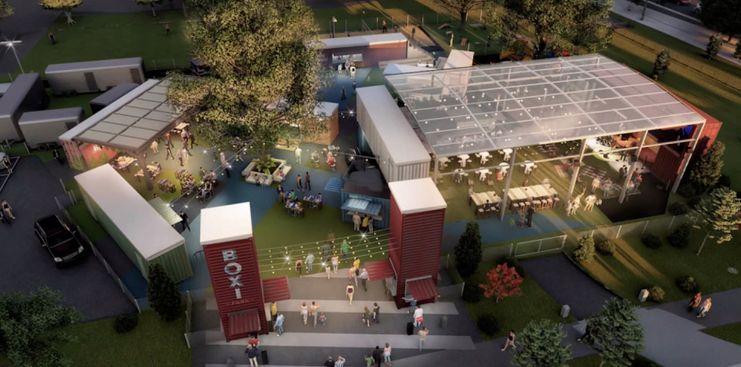 Restaurants and Shops in Converted Shipping Containers in Coral Springs? Redevelopment Officials Considering The Idea