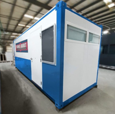 Panel Built Introduces New Line of Converted Shipping Containers