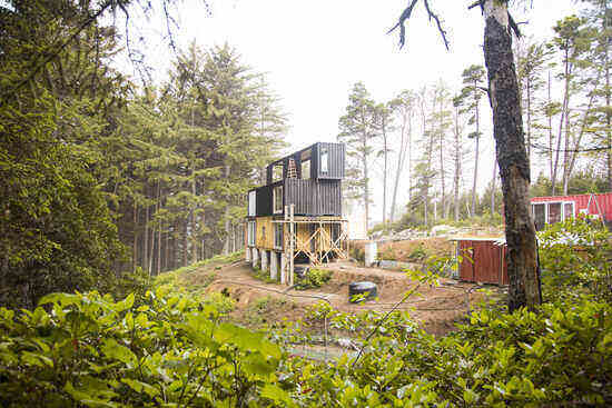 We Started Building an Off-Grid Shipping Container Home with Zero Construction Experience