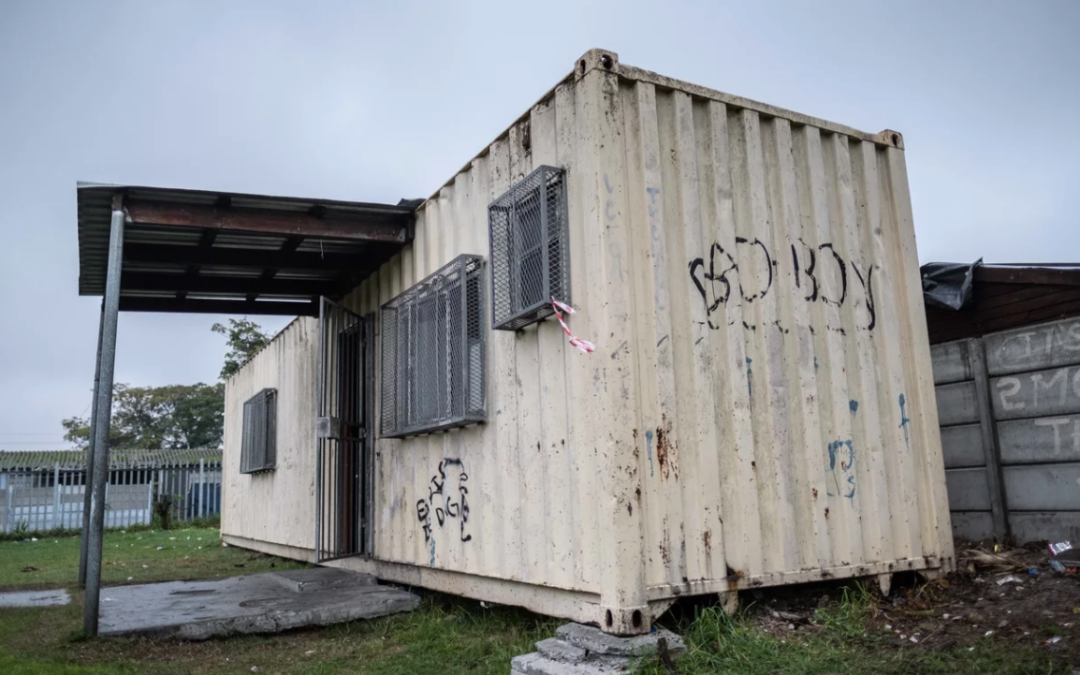 The Hot-Spot Library Was Born In Two Shipping Containers In A Cape Town Slum